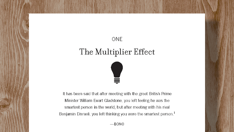 Free Chapter: Dealing with Diminishers - Multipliers - The Wiseman Group